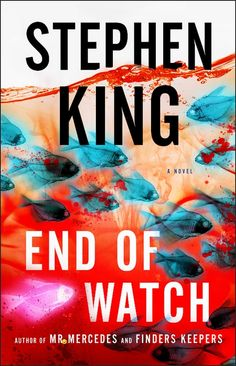 End of Watch by Stephen King, the third installment to the Mr. MERCEDES trilogy. Can't wait for this one!!