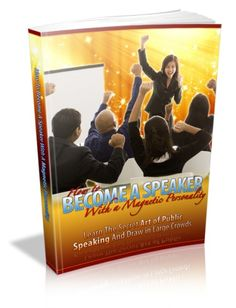 Learn the Art of Public Speaking and Draw in the Large Crowds Only $2.00 with MRR Included! http://www.seymourproducts.com/ebooks-resell/view_item.php?ItemID=3952 #artofpublicpeaking