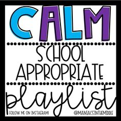 Afspeellijsten in de klas - Maniacs in the Middle Classroom Playlists – Maniacs in the Middle Afspeellijsten in de klas – Maniacs in the Middle Calm Classroom, Middle School Classroom, Classroom Behavior, Classroom Environment, Music Classroom, I School, Classroom Ideas, Future Classroom, Technology In Classroom
