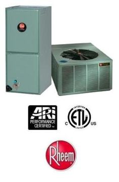 3.5 Ton 14 Seer Rheem Air Conditioning System - RANL043JAZ - RHLLHM4821JA by Rheem. $2209.00. Single Stage Air Conditioner with Multi-Speed X-13 Blower (R-410A) - Cooling Only split air conditioning system. Includes condenser and air handler. Not a heat pump. Supplimental electric heat strips can be added to air handler to provide electric heat (sold seperately).. Save 29% Off!