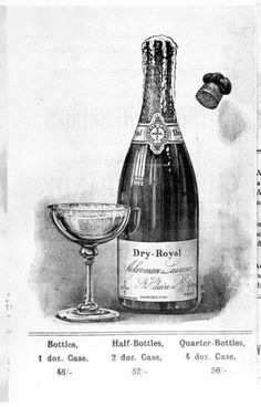 1846: Launch of the Royal Ackerman brand – a sparkling wine icon.