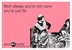 Fat vs curvy