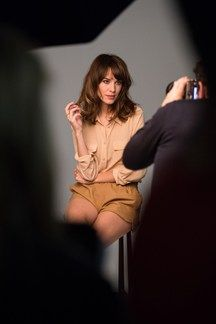 Alexa Chung for L'Oreal Professionnel.  We adore this LP muse.  Her haircolor was all ammonia free and GORGEOUS.   <3, City Salon and Spa of Athens