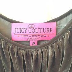 Top Velvet brown juicy couture top Juicy Couture Tops