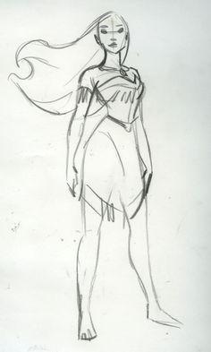 pocahontas sketch♡