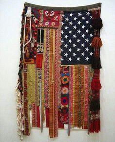 Shabby Chic Flag