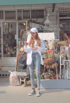 Check Out These Top korean fashion outfits 4188 Queer Fashion, Korean Girl Fashion, Korean Fashion Trends, Korean Street Fashion, Korea Fashion, Asian Fashion, Look Fashion, Ulzzang Fashion Summer, Fashion 2014