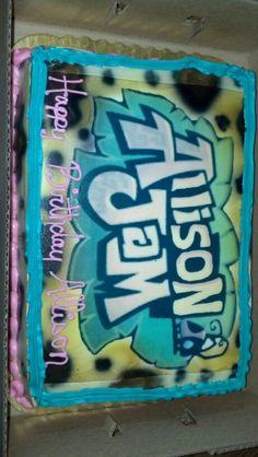 #Howling Wolf Cake   Wolf cake, Gothic birthday cakes, Dog ...  Howling Wolf Animal Jam Cake