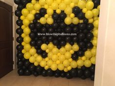 "Blow it Up Balloons specializes in unique and affordable balloon decor that adds the perfect ""pop"" of beauty and excitement to any event. Up Balloons, Balloon Wall, Balloon Decorations, Batman, Fruit, Balloon Centerpieces"