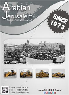 Great day All! We have a great selection of heavy equipment ! You can view them all at: www.al-quds.com  #heavyequipment #usedheavyequipment #cosntructionmachinery #AJC