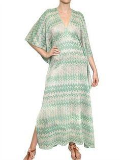 Missoni Lurex Viscose Cupro Knit Kaftan Dress http://www.luisaviaroma.com/productid/itemcode/55I-0C5016