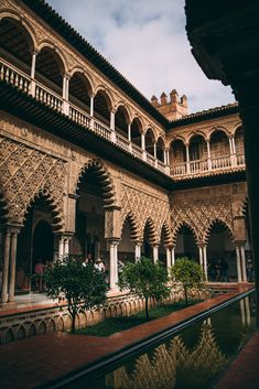 Royal Alcázar of Seville © Janine Rose Photography Alcazar Seville, Sevilla Spain, White Building, Rose Photography, Exotic Plants, Group Tours, Filming Locations, Countryside, Palace