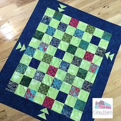Transport yourself to the tropics with the Tropical Flight Lap Quilt Pattern! Mini Quilt Patterns, Beginner Quilt Patterns, Quilting For Beginners, Quilt Tutorials, Quilting Patterns, Baby Boy Quilts, Lap Quilts, Small Quilts, Mini Quilts