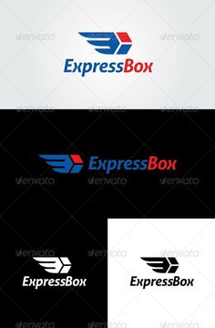 Express Box Logo - Objects Logo Templates