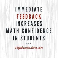 Great resources and ideas for helping algebra students build confidence using technology.