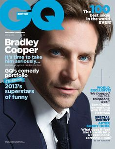 'Watching my father die changed everything': Hollywood heartthrob Bradley Cooper shows a softer side in intimate interview Bradley Cooper, Happiness Therapy, Gq Magazine Covers, Brigitte Lacombe, Gq Mens Style, Gq Style, Magazin Covers, Interview, Cover Boy