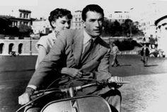 Movie: Roman Holiday, 1953 Gregory Peck & Audrey Hepburn