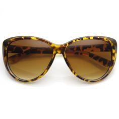 Womens Oversize Retro Fashion Cat Eye Sunglasses 9151 | zeroUV