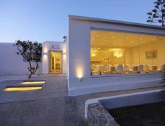 Amazing Hotel with friendly and welcoming stuff! Mykonos Hotels, Greece Hotels, Best Hotels, Bathroom Lighting, Garage Doors, Mirror, Amazing, Outdoor Decor, Furniture