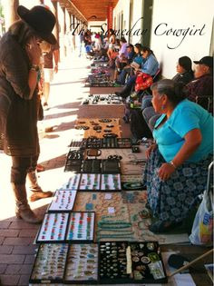 The Indian Market in Santa Fe