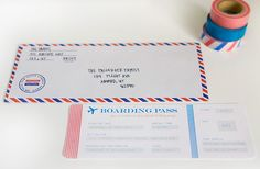 airplane party: invitations ...