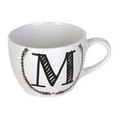 Black and White Monogram Mugs | Kirklands But I would need a B