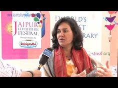 Kamila Shamsie talks to AsianCultureVulture, at the Jaipur Literature Festival, 2015