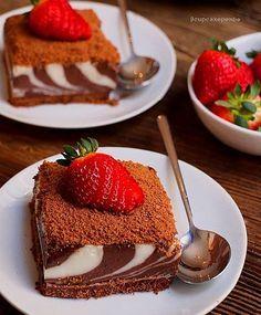 Easy Desserts, Delicious Desserts, Dessert Recipes, Cupcake Rose, Masala Tv Recipe, Turkish Recipes, Ethnic Recipes, Different Cakes, Cake Photography