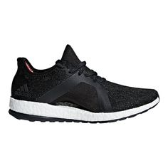 wholesale dealer a7ca9 a2a63 adidas Women s Pure Boost X Element Running Shoes - Grey Black Coral