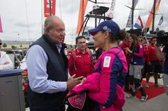 On June 27, 2015, Crown Princess Victoria of Sweden attended Volvo Ocean Race in Gothenburg