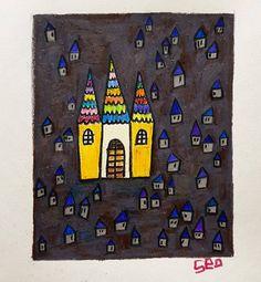 """좋아요 70개, 댓글 6개 - Instagram의 Youyeong.Seo(@blibla_art)님: """". YOLO - 즐거운 나의 집. My Happy House. . . . #thumbnail #doodling #doodle #yolo #youonlyliveonce…"""""""