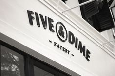 Phenomenal. I love everything about this branding. Five & Dime brand design by Bravo Company