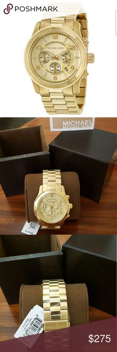 Michael Kors Men's Bracelet Watch New Never been used Box included 44mm I do not trade MK8077 Michael Kors Accessories Watches