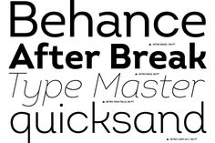 The Intro font family consists of 26 unique font styles and weights. The family is characterized by excellent legibility both in print and on the web, a well-finished geometric design, optimized kerning, etc.