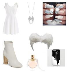 """""""Wings"""" by elenaanais on Polyvore featuring Salvatore Ferragamo, Decadence, Chicwish and Chloé"""