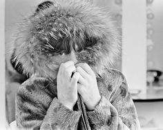 Rolling Stones singer Mick Jagger posing in a fur parka, with a fur trimmed hood, The Rolling Stones, Mick Jagger, Terry O Neill, Keith Richards, Instagram, Frankfurt Germany, Artists, Twins, History