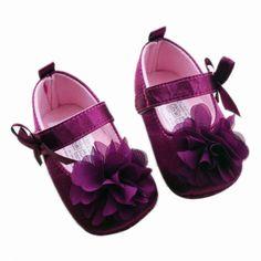 Bebek Kız Ayakkabı Todder İlk Walkers Ayakkabı Bebek Kız Prewalker Çiçek Yumuşak Sole Ayakkabı