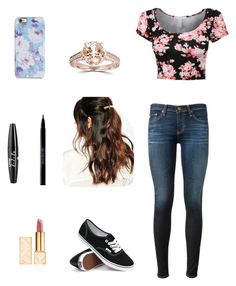 """"""" fashion 292 """" by veronicaleigh777 on Polyvore featuring AG Adriano Goldschmied, Vans, Isaac Mizrahi, Suzywan DELUXE, Tory Burch, NYX and Urban Decay"""