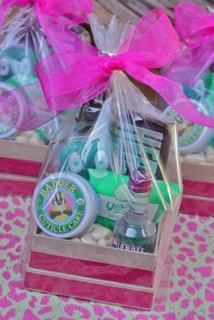 Glamping Girls: Gift Bags for girls weekend | Pinterest Most Wanted