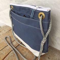 6a6024648d99 Medium Corsica Crossbody Bag Recycled Sail Bag by OldeDog on Etsy