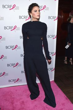 Victoria Beckham Photos Photos - Victoria Beckham attends The Breast Cancer Research Foundation's 2017 Hot Pink Party at the Park Avenue Armory on May 12, 2017 in New York City. - 2017 Hot Pink Party in New York City