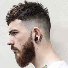 Fringe Haircut - Messy Top with Short Bangs