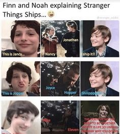 The second and last one, tho. I don't ship Jancy...