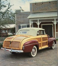 1946 Super Deluxe Station Wagon, Model 69A.