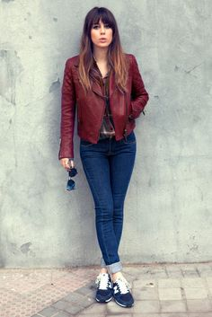 Looks de Blanca Suarez para Vogue #newbalance #victoriabekam #rayban #loewe #DriesVanNoten