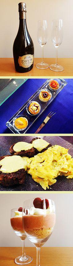 """Jantar romântico com """"comida de verdade feita por mim""""!!!!"""