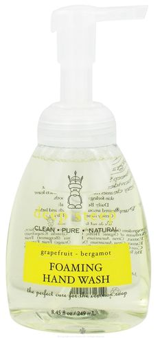 Buy Deep Steep - Foaming Handwash Grapefruit Bergamot - 8.75 oz. at LuckyVitamin.com SALE $ 4.19 REG. $8.39 The perfect cure for the common soap.  Rich and creamy is the only way to describe the luxurious lather of Deep Steep's Foaming Hand Wash, a customer favorite!  As instant foam gently cleanses your hands, Organic extracts leave skin feeling soft and smooth. The natural formulation effectively cleanses but won't dry out skin.