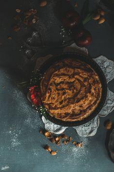 Apple Cake for Valentine's Day | Torta di Mele per San Valentino | Lab Noon-8