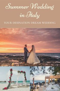 Imagine your wedding in Italy during the summer with a beautiful sunset behind you... If you really want this and add a beautiful scenary by doing it in italy click on the pin! #italyweddings #mariage #weddingphotos #matrimoniocom #matrimoniotoscana #destinationweddingplanner #lakecomowedding #musicamatrimonio #bestwedding #weddingrome #weddingdetails #summer #travel #wedding #scenary #landscapes #weddingsummer #beach #sunset #sunrise #romantic #hot Summer Wedding, Dream Wedding, Lake Como Wedding, Fine Sand, Places In Italy, Destination Wedding Planner, Wedding Places, Italy Wedding, Beautiful Sunset