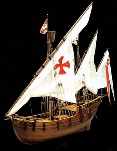 Build the Nina, wooden model ship kit by Mantua Model Ship Kits Model Sailing Ships, Model Ships, Model Ship Kits, Ship In Bottle, Fishing Vessel, Build Your Own Boat, Plywood Boat, Boat Kits, Yachts